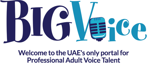 BigVoice - Welcome to the UAE's only portal for Professional Adult Voice Talent