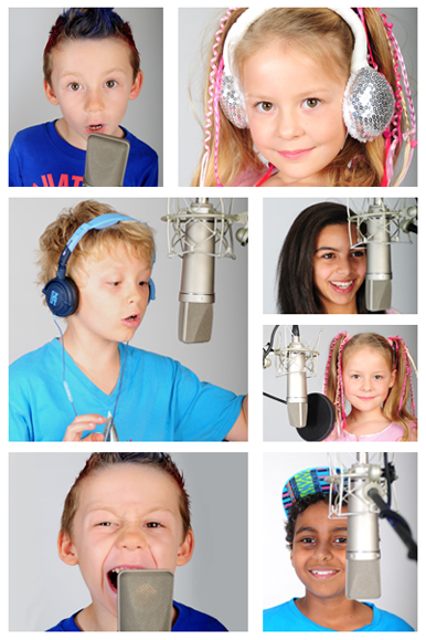 Montage of School Of LittleVoice children